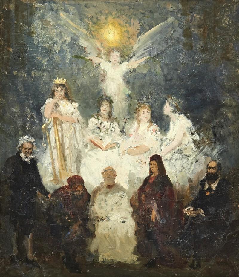 "Ilya Yefimovich Repin, ""Apotheosis of the Art"""