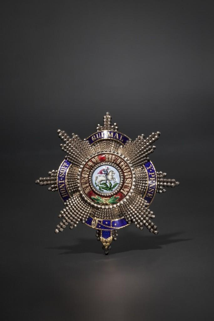 Medalla de Jorge V de Hannover con cinta de esmalte (1860). Precio de salida: 40.000 €