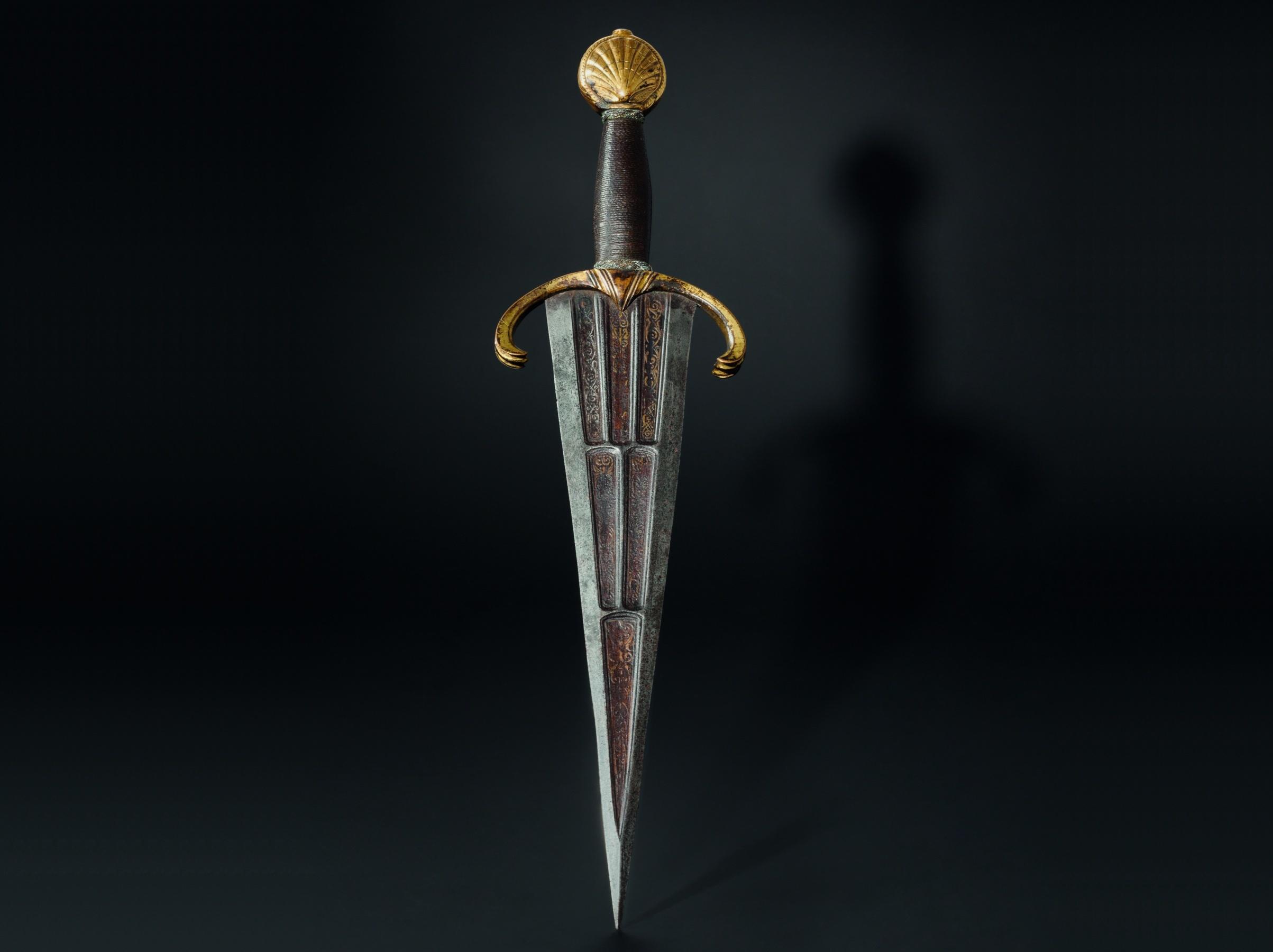 Dague de luxe, Haute-Italie, vraisemblablement Ferrare vers 1500/1510