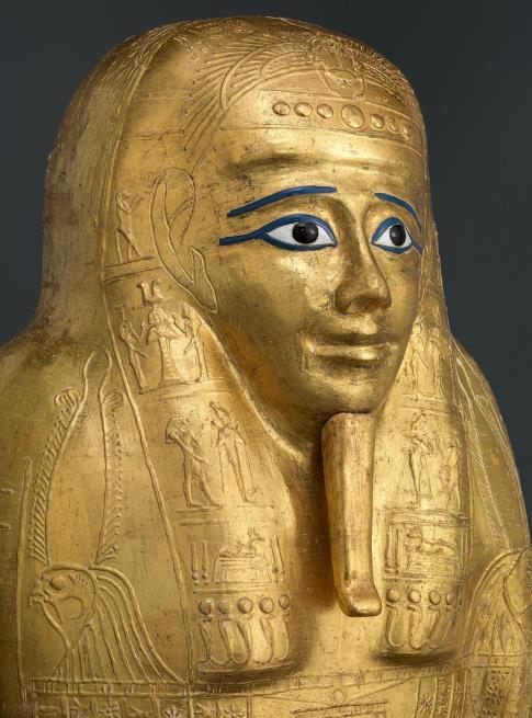 Le cercueil de Nedjemankh qui a été renvoyé en Égypte, image ©The Met