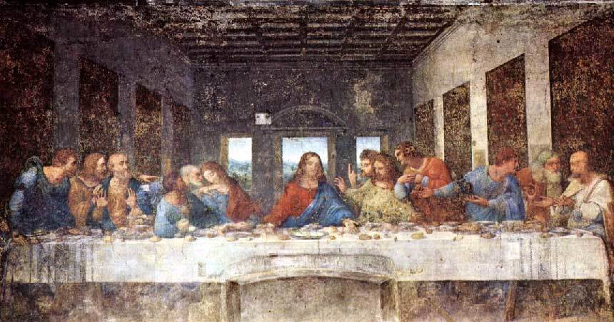 The Last Supper. Picture: artandthebible.com The Last Supper. Picture: artandthebible.com