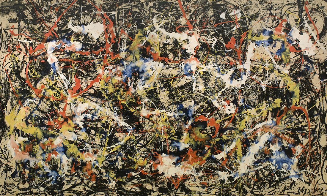 Jackson Pollock, 'Convergence', 1952