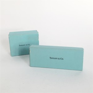 Tiffany & Co. boxes on sale at Tajan with an estimate of €10-20