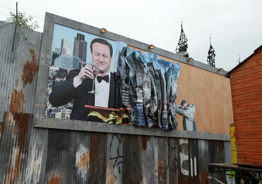 David Cameron ne fait pas l'unanimité... Image via Metro