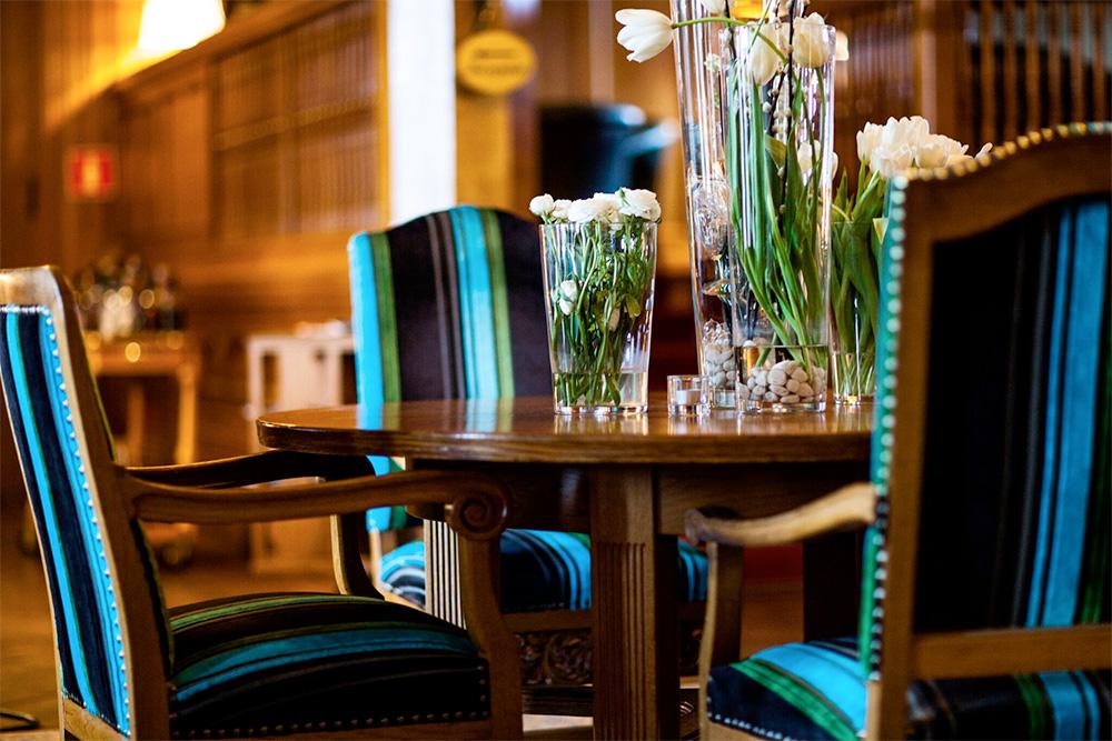 Vackra interiörer på Bjertorp. Bild: Countryside Hotels