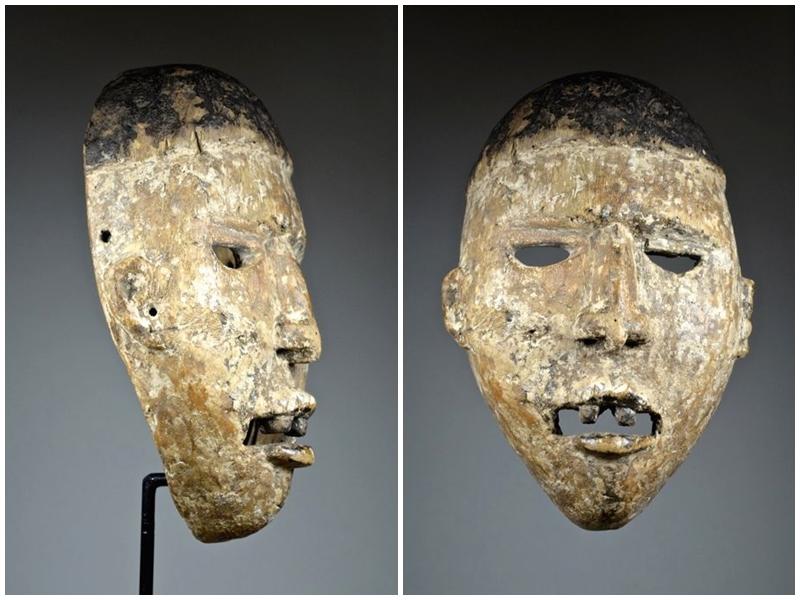Máscara Ngobudi. YOMBE / BAKONGO. República Democrática del Congo