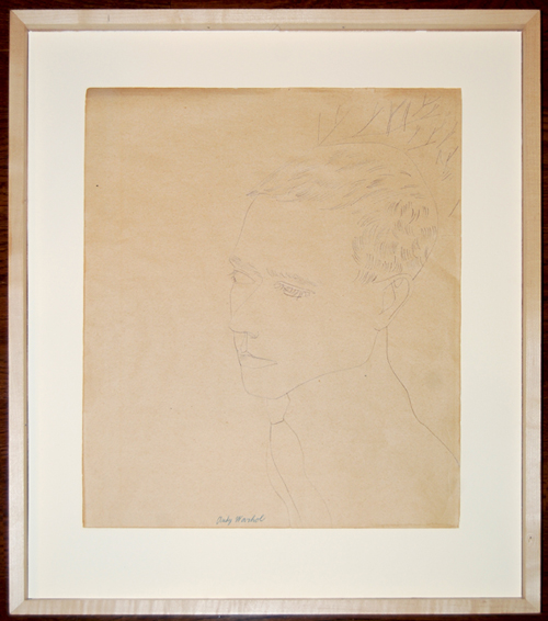 The Andy Warhol piece sent in to Barnebys valuation service from a private collection. Acquired by the present owner in 1969