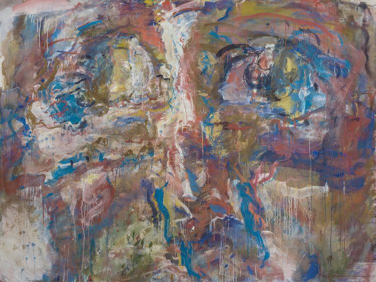 Marwan. Kopf. 1978-80 Oil on canvas.  Precio mínimo estimado: 200 000 EUR Grisebach