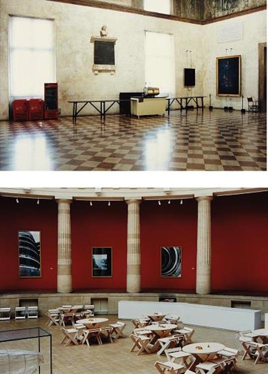 CANDIDA HÖFER Two works: (i) Teatro Olimpico Vicenzo, 1988; (ii) Museum van Hedendaagse Kunst Gent III, 1995, Phillips