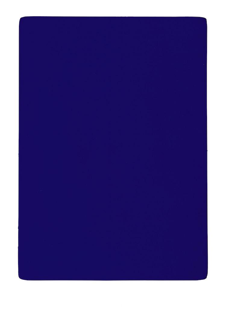 Yves Klein banbrytande målning