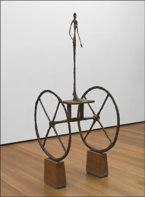 """Alberto Giacometti """"Chariot""""   Foto: MoMa"""