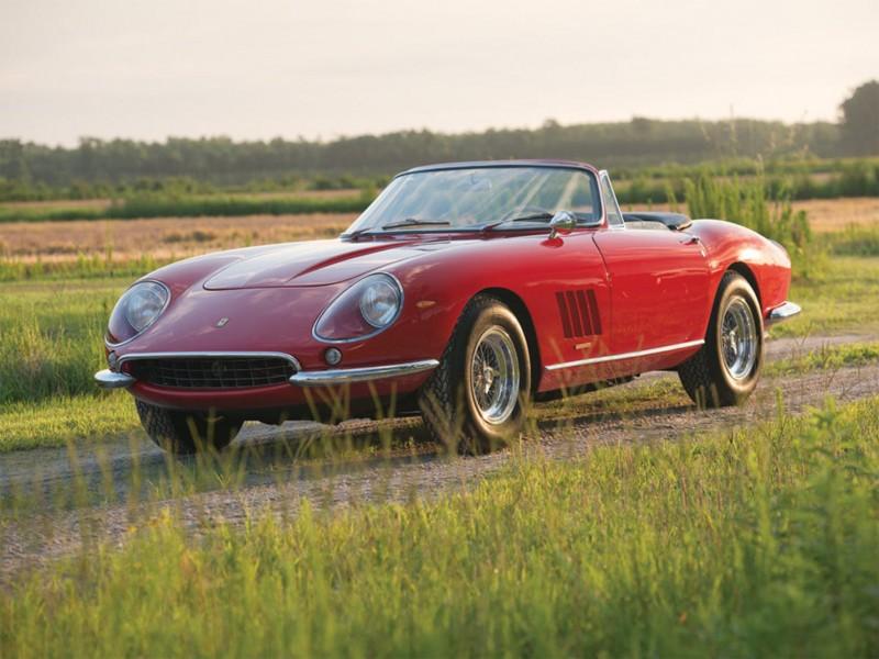 Ferrari 275 GTB:4/S N.A.R.T. Spider, 1967. Image courtesy of RM Sotheby's