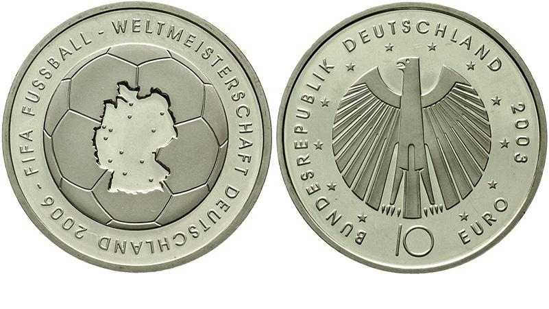 BRD, 10 Euro Fußball-WM 2006