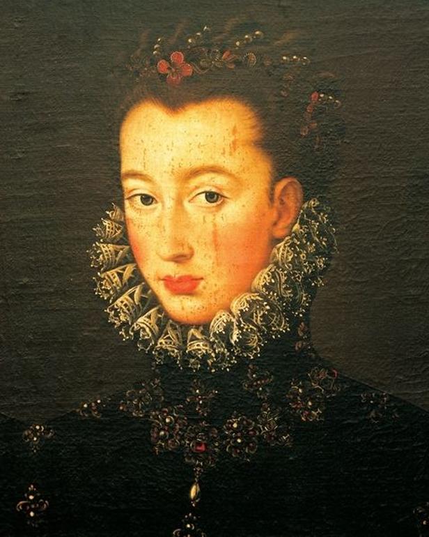 Attributed to Federico Zuccari, 'Portrait of Lucretia d'Este', 1535-98