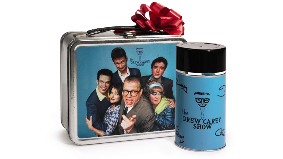 1993 Drew Carey Show Holiday Gift Lunchbox And Thermos Given To Sam Simon Estimate: $300-$500 Image via Sotheby's