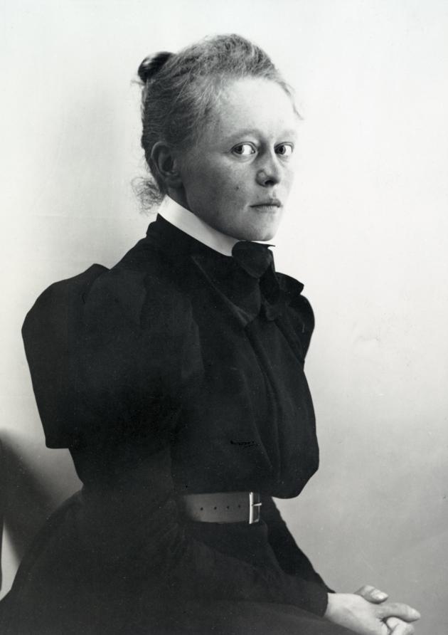 Helene Schjerfbeck, 1862-1945. Bild: peda.net