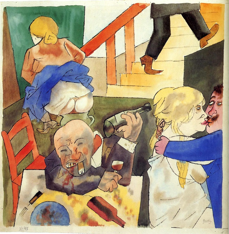 Berlin Night Club, George Grosz