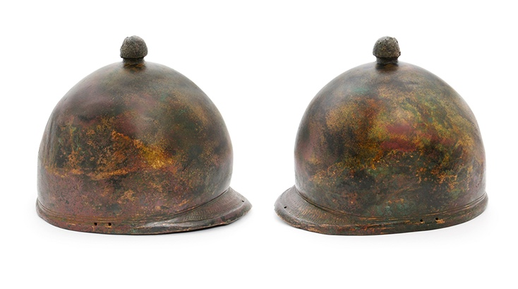 Römischer Helm für Legionäre, Bronze, Rom. Reich ca. 250 v. Chr. - 50 n. Chr.