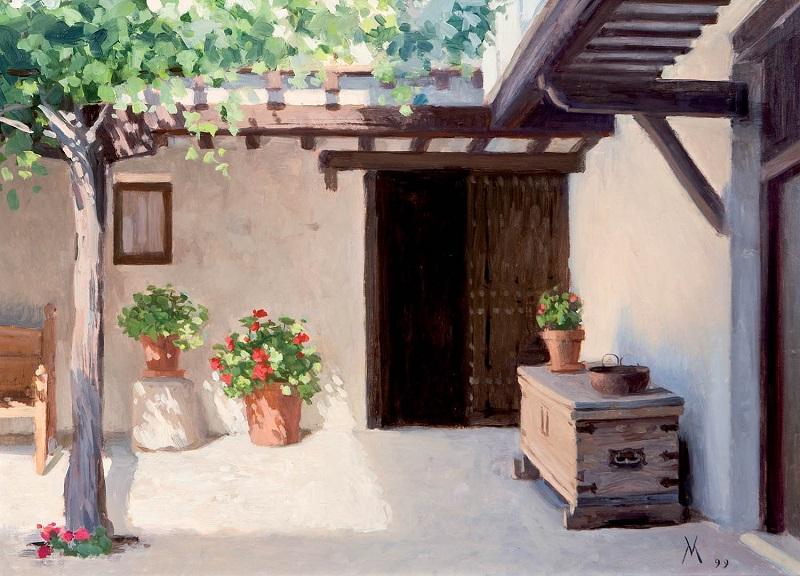 GUILLERMO MUÑOZ VERA. Patio de talleres (1999)