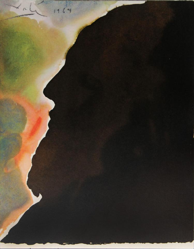 SALVADOR DALÍ - Abraham, Pater Multarem Gentium, 1969