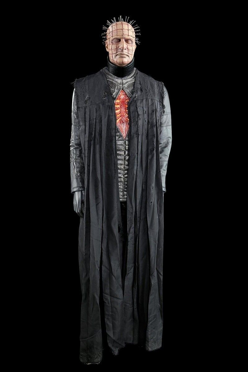 Paul T Taylor. Pinhead suit and mask. Photo: Prop Store