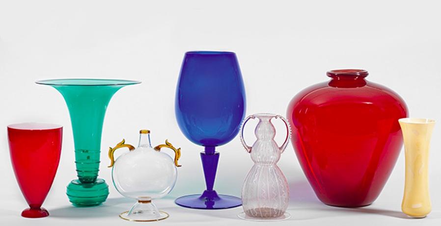 48 Lose mit seltenem Murano-Glas kommen in der Auktion zum Aufruf