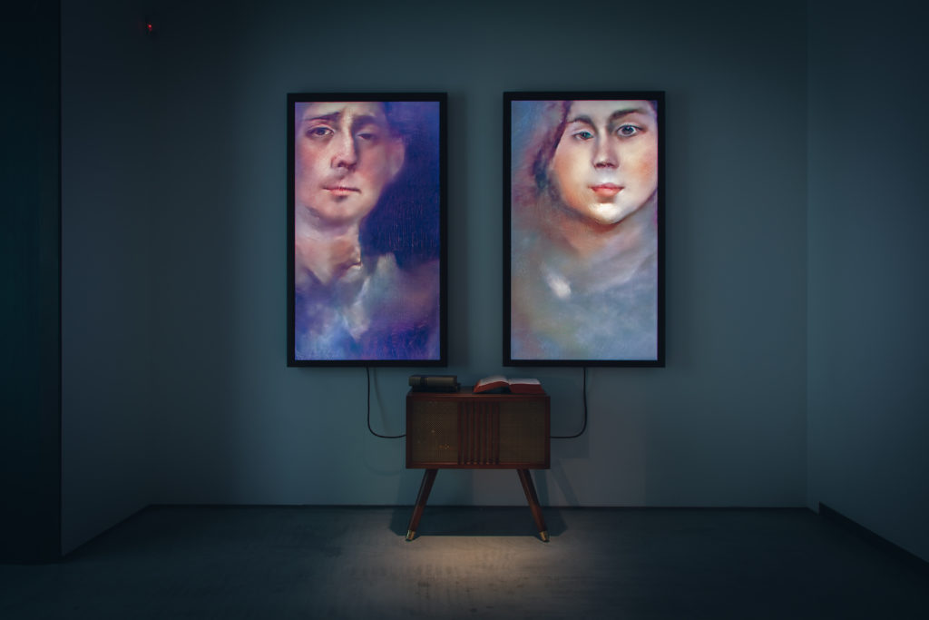 Mario Klingemann, Memories of Passersby I, 2018   Abb.: Sotheby's