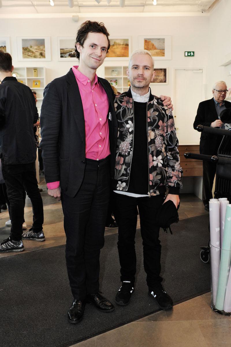 Oscar Carlson och Hans Berg
