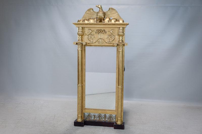 Spegel, Johan Martin Berg, empire, 1810/20-tal
