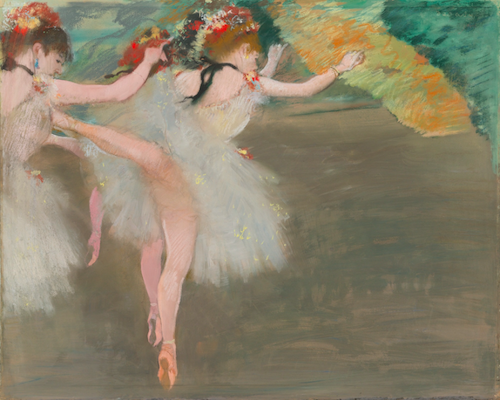 ett av toppnumren på auktionen är Degas