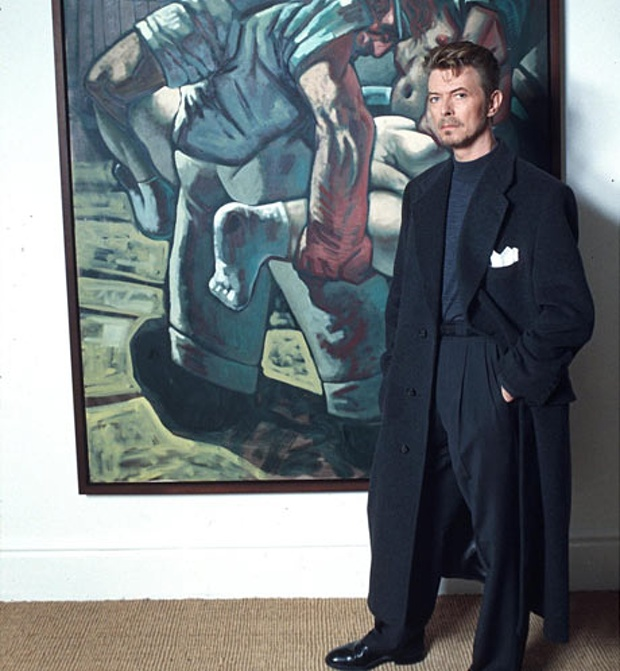 David Bowie's nineties style Image via the Guardian