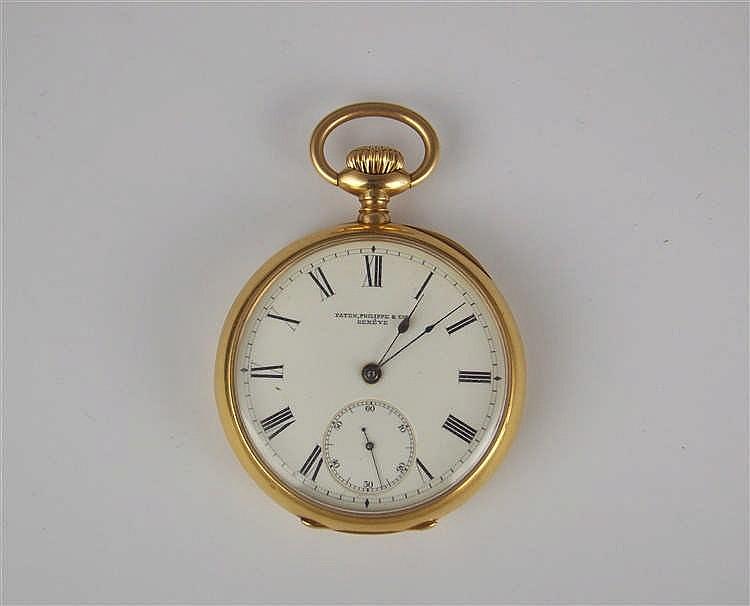 Reloj de bolsillo PATEK PHILIPPE en oro amarillo