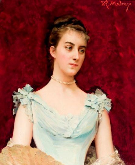 Raimundo de Madrazo, Portrait of a lady