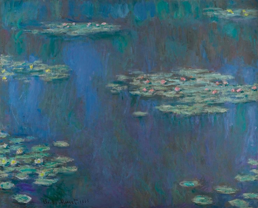 Nymphéas, Claude Monet Image via Sotheby's