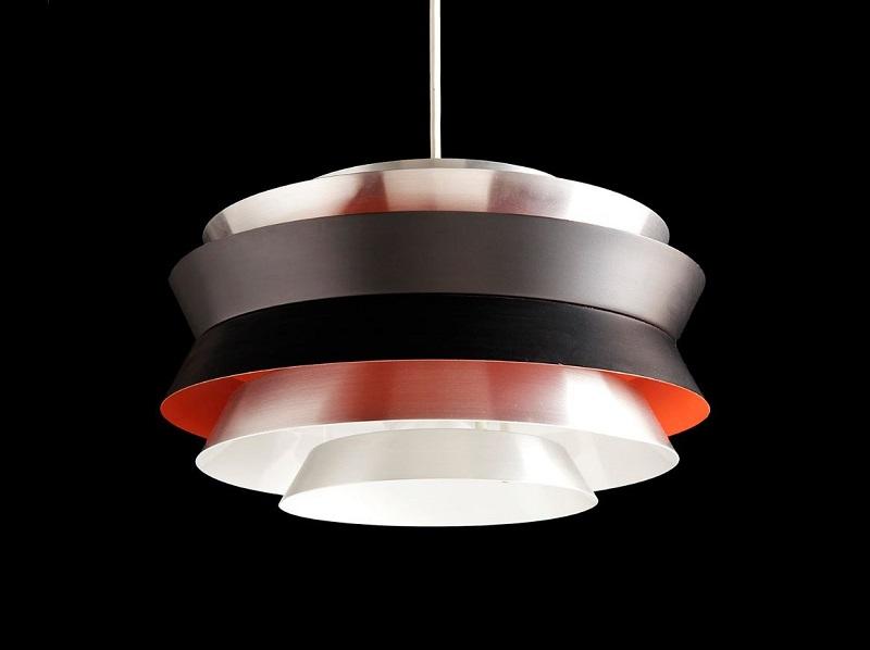Lámpara de diseño danés (años 60)