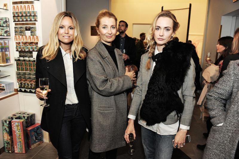 Sofie Fahrman, Lena Patriksson och Maria Nilsdotter