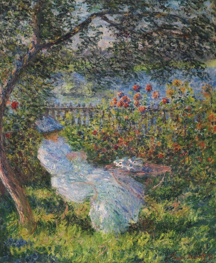 CLAUDE MONET. Alice Hoschedé au jardin, 1881. Estimated at $25,000,000 — $35,000,000. Sotheby's