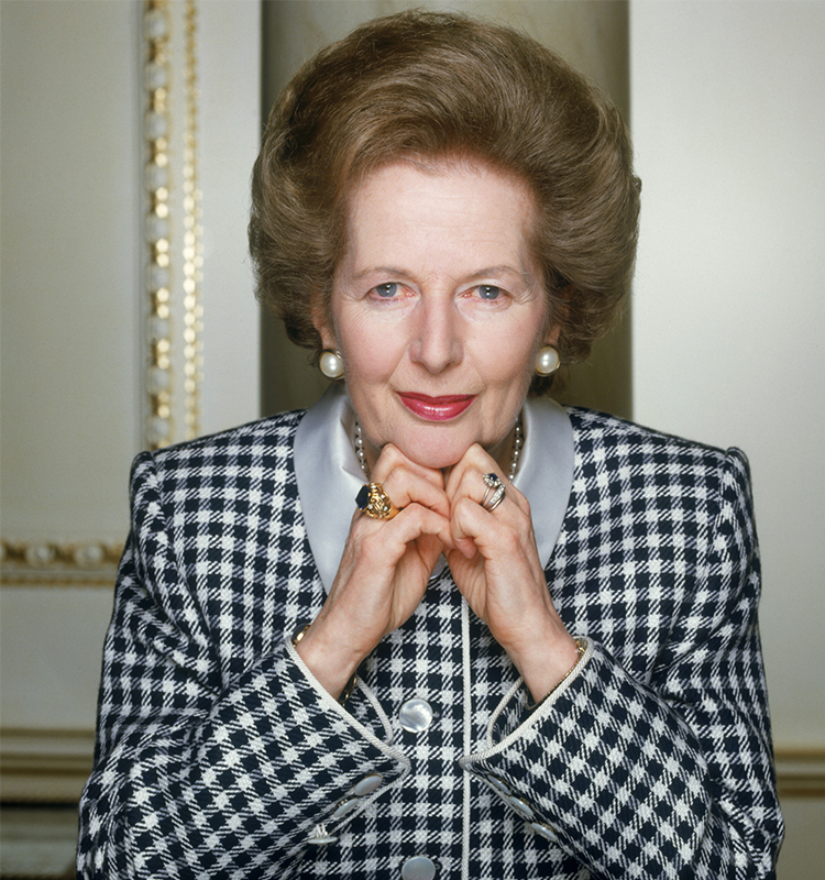 Margaret Thatcher Image via Christie's