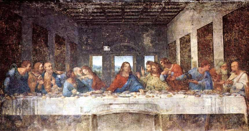 The Last Supper. Bild: artandthebible.com
