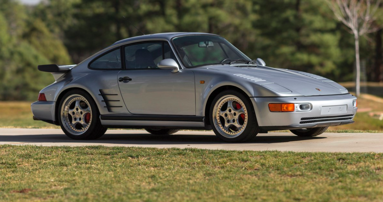 1994 Porsche 911 Turbo S X83 'Flachbau.' RM Sotheby's