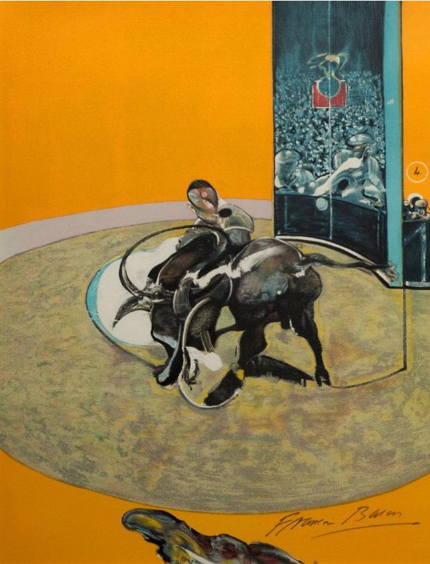 Study for bullfight, n° 1 Image via Morand