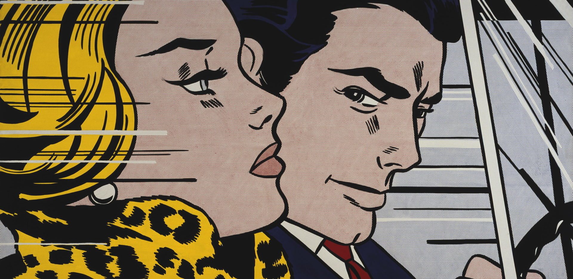 Roy Lichtenstein,'In the Car, 1963, collection du Scottish National Gallery of Modern Art