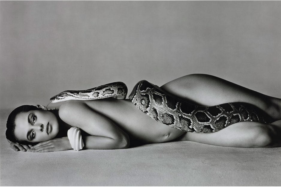 Nastassja Kinski and the Serpent, Los Angeles, California, 1981 signed and numbered 52/200 Image: Sotheby's
