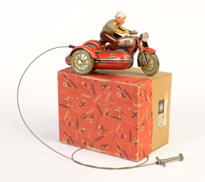 ARNOLD Beiwagen Motorrad MAC