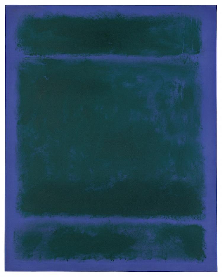 MARK ROTHKO. UNTITLED, 1970. Estimate $15,000,000 — $20,000,000. Photo via Sotheby's