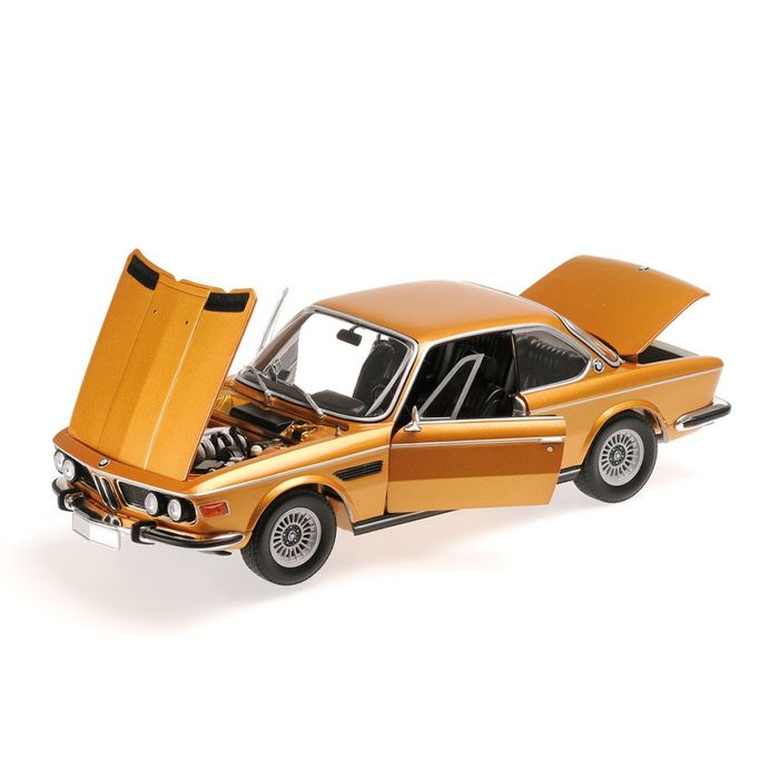 限量車,米尼切 Minichamps, 尺寸 1/18 - BMW 3.0 CSI (E9) Coupe 1972 - Colour: Gold bronze metallic