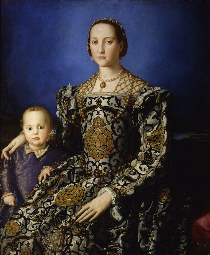 Bronzino, 'Portrait of Eleonora di Toledo with son Giovanni', c. 1545