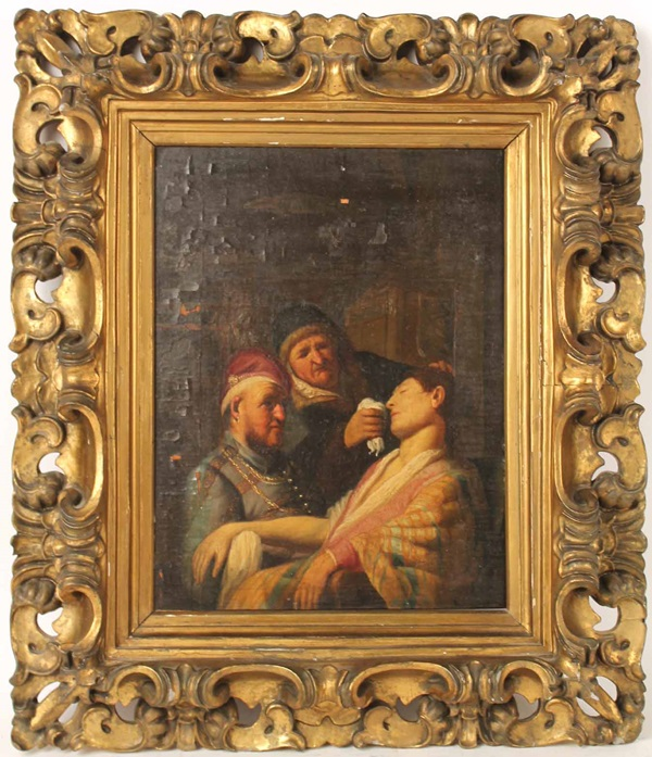 The suspected Rembrandt Image via Nye and Company