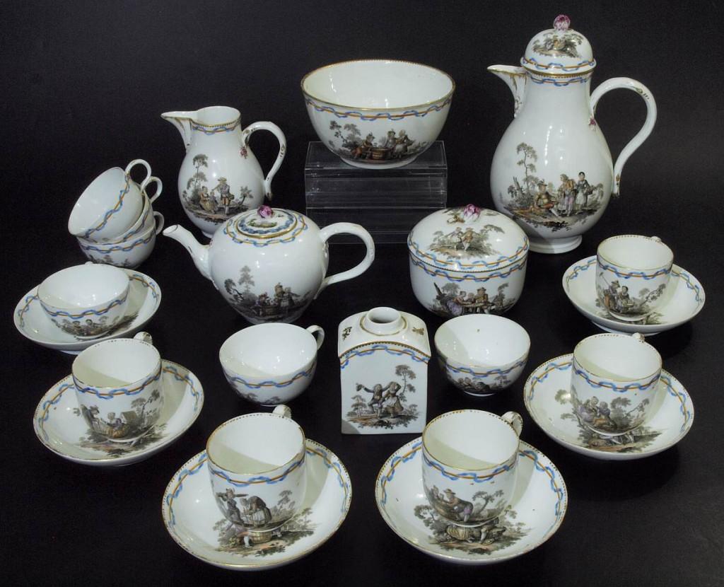 MEISSEN - Marcolini Kaffe- und Teeservice, 1774-1815