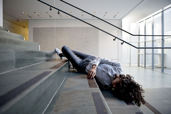 Maria Hassabi The Museum of Modern Art New York, N.Y. October 30, 2015 Photo Credit: Julieta Cervantes
